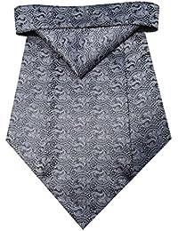 Riyasat - Self Design Micro Fiber Cravat with Pocket Square (C_0074)