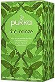 Drei Minze PUKKA Tee BIO 4 Packungen à 20 Teebeutel