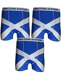 **Bon Marche** 3 Boxeurs pour Homme Écosse