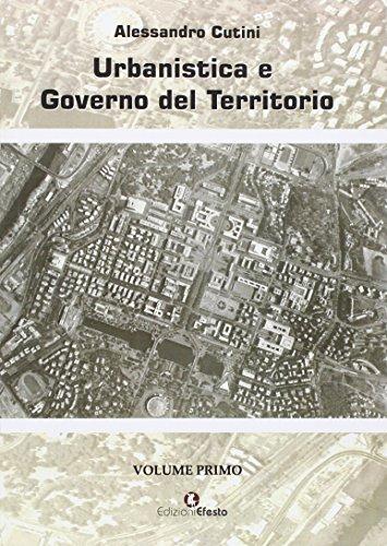 Urbanistica e governo del territorio di Alessandro Cutini