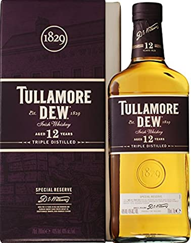 Tullamore Dew 12 Year Old Whiskey 70cl