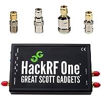 NooElec HackRF One Software Defined Radio (SDR) et SMA Antenna Adapter Bundle