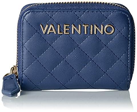 Valentino by Mario Valentino Damen Ritas Geldbörse, Blau (Blu), 1.8 x 7.5 x 10 cm