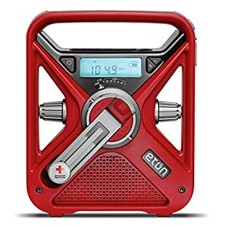 Eton FRX3+ American Red Cross Emergency Weather Radio with Smartphone Charger