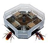 Hosaire 1 Stück Fänger Catcher für Kakerlaken,Käfer, Spinnen, Nagetiere und andere Insekten,Keine Gerüche