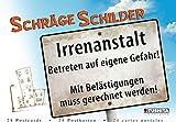 Schräge Schilder: Postkartenbuch Tubu61
