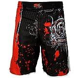 Pro pantaloncini da combattimento UFC delle MMA, adatti per kick boxing, muay thai