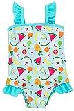 ALove Baby Mädchen Süß Badeanzug Mit Rüschen Wassermelone Print Blau 12-18 Monate