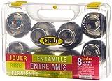 La Boule Obut OBTDD8LDF - Jeu de Plein Air - Pétanque - Mal.8 Boules Fumées Brillantes