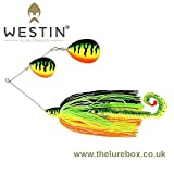 Westin MonsterVibe Colorado 65g Crazy FT Spinnerbait
