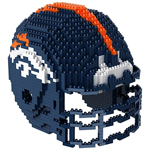 Denver Broncos NFL Football Team 3D BRXLZ Helm Helmet Puzzle