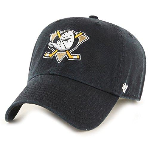47 Unisex Clean Up Baseball Cap, Schwarz Black-Ducks, One Size