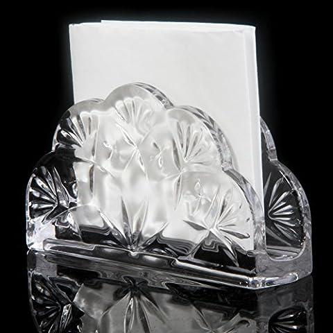YUENLONG Vetro cristallo box creative home hotel KTV privato di asciugamani di carta per rack