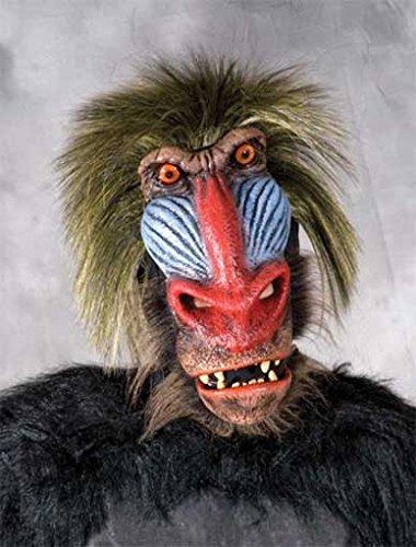 Pavian Affen Maske (Pavian Maske)