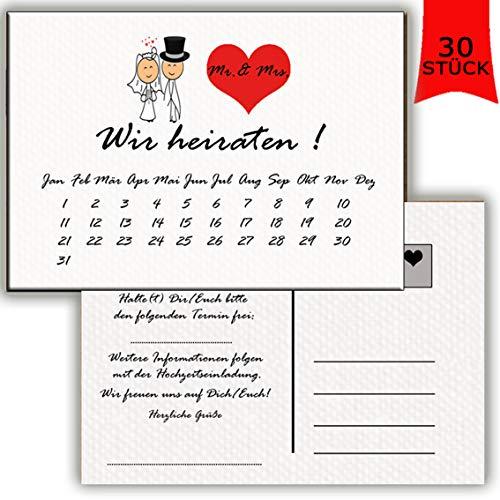 Save the date Karten Postkarten Vintage mit Text Hochzeit Liebe Heira Einladung Verkündung Brautpaar Hochzeitsspiel