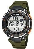 Sport Orologio da Polso per Uomo Orologio Digitale con Calendario Allarme Cronometro e Luminoso Impermeabile fino a 50 Metri - Verde