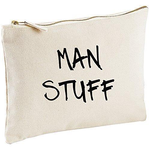 Man sac toile naturelle Man pour homme Lavage Sac cadeau Idée Cadeau Sac cosmétique trousse de toilette cadeau
