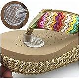 Silicona Sandalias Toe protectors-silipos Sandalia Flip-Flop Gel para los dedos cojines protectores de tanga juego de 5par