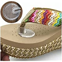 Silikon Thong Sandal Toe Schützer-Silipos Sandale Flip-Flop-Gel-Toe Guards Kissen Thong Schützer Set von 5 Paar preisvergleich bei billige-tabletten.eu