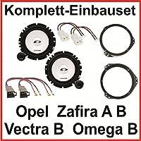 Opel Zafira A 99-05 Ground Zero Lautsprecher,Boxen 165mm Kompo Front