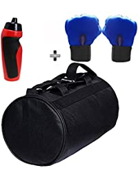 SOOPLE SPORTZ Gym Bag Combo Set Enclosed With Soft Leather Gym Bag For Men And Women For Fitness - Bag Size 49cm... - B07CSNQ26L