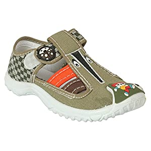Action Shoes Dotcom Kids Casual Shoes B0751-060-Khaki