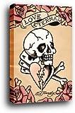Ed Hardy Poster als Blockbild - Love Eternal (91 x 61cm)