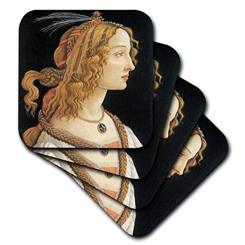 3dRose BLN italienischen Renaissance Fine Art Collection-Junge Frau in Mythologische Guise...