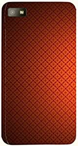 Noticeable multicolor printed protective REBEL mobile back cover for Blackberry Z10 D.No.N-L-13966-BBZ10