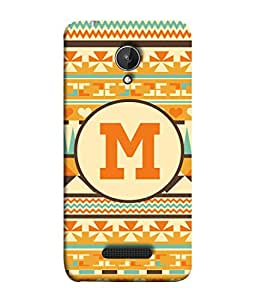 FUSON Designer Back Case Cover for Micromax Canvas Spark Q380 (Colourful Wallpaper Gift Wrap Paper Art Painting )