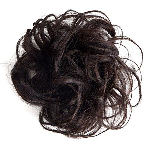 Sfera di parrucca signora/ datore di lavoro femminile bun capelli/Grandi volumi di Bud di corda di capelli parrucca-A