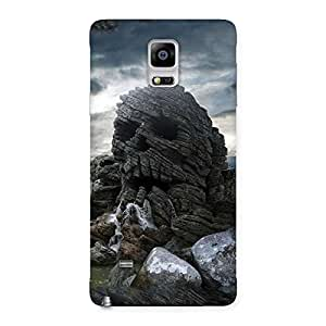 Delighted Skull Rock Back Case Cover for Galaxy Note 4