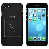 Azeeda Schwarz 'Batterie' Hülle für iPhone 7 (MC00071559)