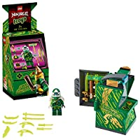 LEGO 71716 NINJAGO Lloyd Avatar - Arcade Pod Portable Playset, Collectible Prime Empire Ninja Toys for Kids