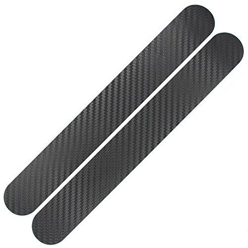 Finest Folia Fahrrad Kettenstreben Schutz Aufkleber Folie Lackschutz (Carbon Schwarz)