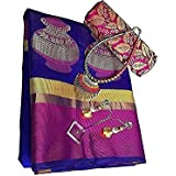 Sarees(Harikrishnavilla Sarees For Women Party Wear Half Sarees Offer Designer Below 500 Rupees Latest Design Under 300 Combo Cotton Silk New Collection 2017 In Latest With Designer Blouse Beautiful For Women Party Wear Sadi Offer Sarees Collection Kanchi