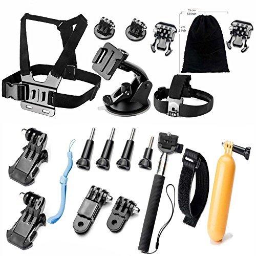 gearmaxr-accessorio-per-gopro-hero-4-3-3-2-1-black-silver-accessori-per-gopro-hero4-hero3-hero3-hero