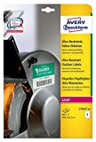 Avery Zweckform L7914-10 Ultra-Resistente Folien-Etiketten (A4, 80 Stück, 99,1 x 67,7 mm) 10 Blatt weiß