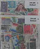 500Holland Briefmarken in Pakete