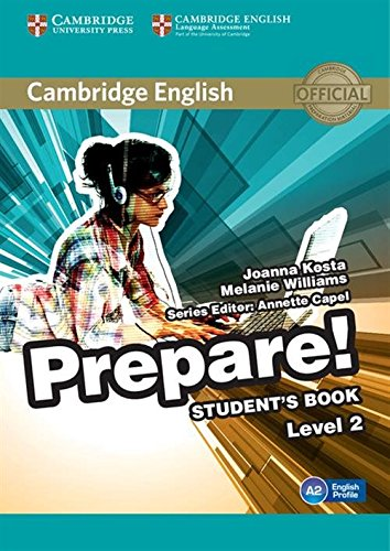 Cambridge English Prepare! Level 2 Student's Book [Lingua inglese]