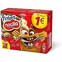Cuetara Galletas Flakes Nocilla - Pack de 3 x 35 g - Total: 105 g