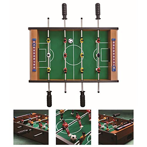BUTLERS GOOOALIAT Tischkicker für Kinder 51,5x31,5 cm - Spielzeug Mini Kickertisch für Groß und Klein - hochwertiges Fußball-Tisch Spiel mit Ball und Spielstandsanzeige (Mini Tisch Kicker)