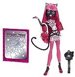 Monster High Spielzeug–Scare Mester Catty Noir Deluxe Fashion Puppe–Tochter einer Werkatze