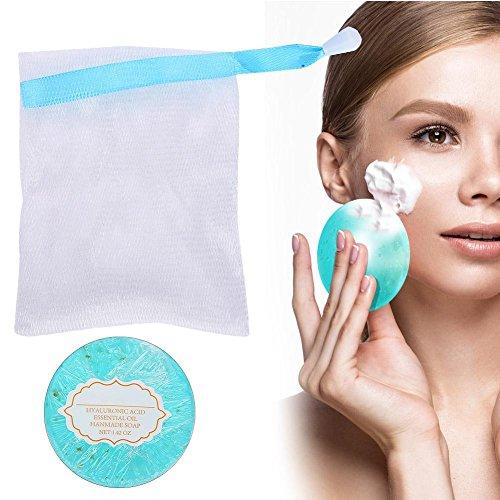 Skin Nursing Handmade Soap, 24K Hyaluronsäure ätherisches Öl Intim Bleichen verjüngende Seife für Frauen und Männer