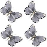 4 Stück Fliegen Fliegenköder Köder Fliegenfänger Schmetterling Fensterköder Aufkleber Fenster