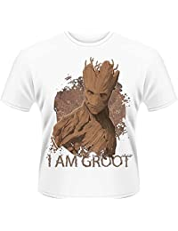 Plastic Head Guardians Of The Galaxy I Am Groot - T-shirt - Col montant - Manches courtes - Homme