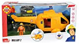 Smoby 109251002002 - Feuerwehrmann Sam Helicoptere Wallaby 2 Test