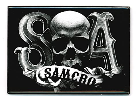 Sons Of Anarchy S Skull A Samcro Aimant