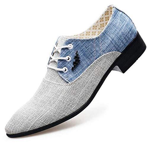 Männer, die Business-Business-Schuhe für Männer Wedding sind Mezlan Lace-up Oxfords