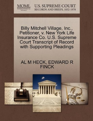 billy-mitchell-village-inc-petitioner-v-new-york-life-insurance-co-us-supreme-court-transcript-of-re